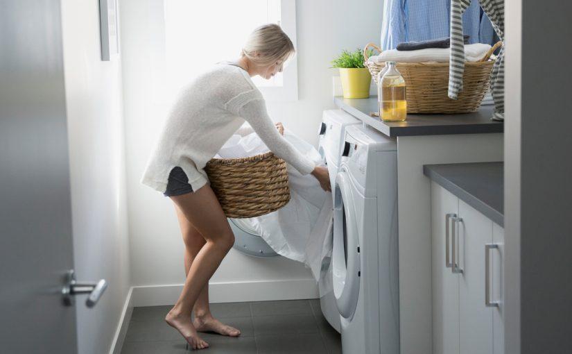 Как да измиете бялото в пералнята